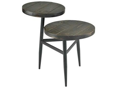 Elk Home Arabica / Black 18'' Wide Round End Table