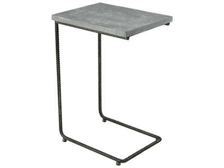 Elk Home Grey Iron / Concrete 18'' Wide Rectangular End Table