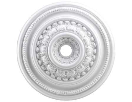 Elk Lighting English Study White Ceiling Medallion
