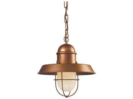 Elk Lighting Farmhouse Bellwether Copper 12'' Wide Pendant EK650491