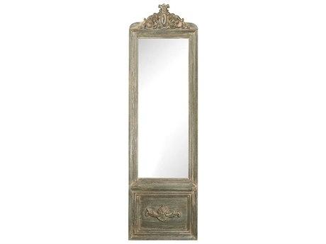 Elk Home Grey Whitewash Floor Mirror
