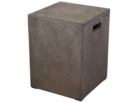 Elk Lighting Square Handled Concrete Stool