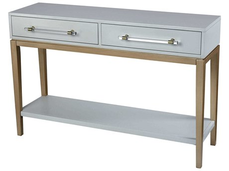 Elk Lighting Girl Light Grey / Gold Clear Acrylic Hardware 48'' Wide Rectangular Console Table