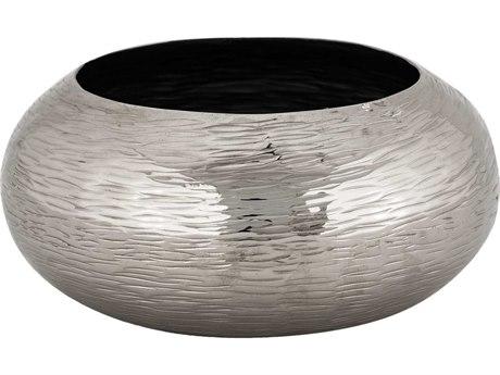 Elk Lighting Hammered Oblong Nickel Small Bowl