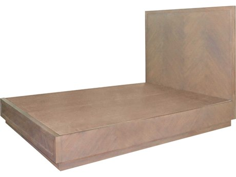 Elk Lighting Herringbone Queen Classic Gray Platform Bed