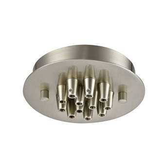 Elk Lighting Illuminaire Accessories Satin Nickel 12-Light Round Canopy