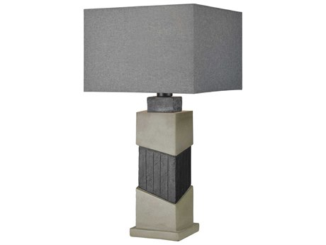 Elk Lighting Inverness Black Slate / Polished Concrete Buffet Lamp