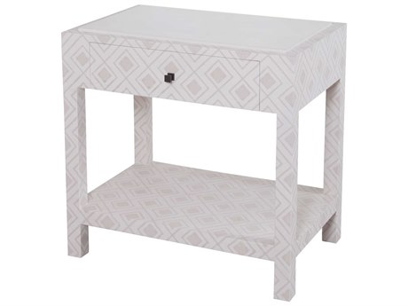 Elk Lighting Kent Dove White & Gray 30.5''W x 20''D Rectangular Bedside Table EK70111057