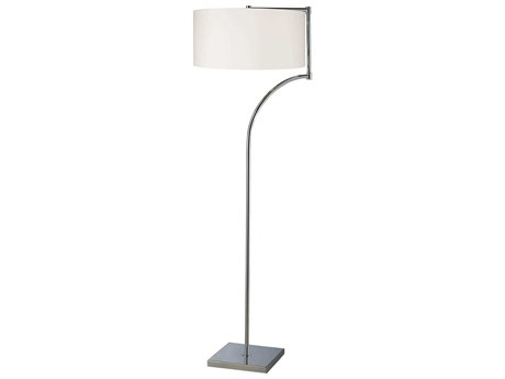 Elk Lighting Lancaster Chrome LED Floor Lamp