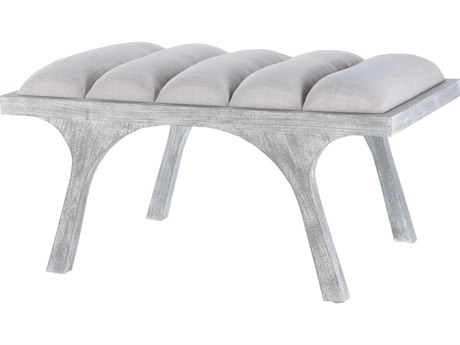 Elk Lighting Lawrence Restoration Grey Split Leg Little Accent Bench