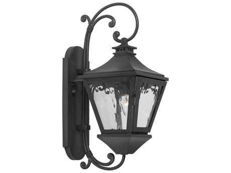 Elk Lighting Manor Charcoal 8'' Wide Outdoor Wall Light