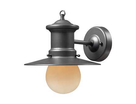 Elk Lighting Maritime Graphite Outdoor Wall Light EK424051