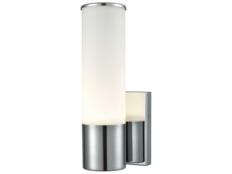 Elk Lighting Maxfield Chrome 4'' Wide Led Wall Sconce