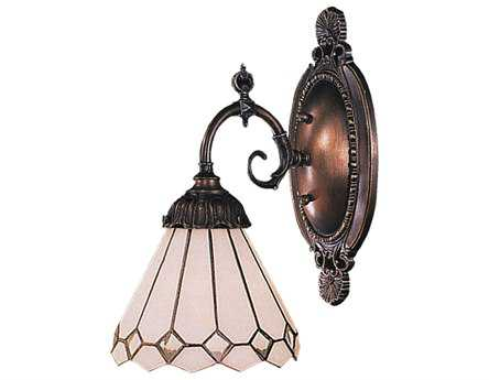 Elk Lighting Mix-N-Match Tiffany Bronze Wall Sconce EK071TB04