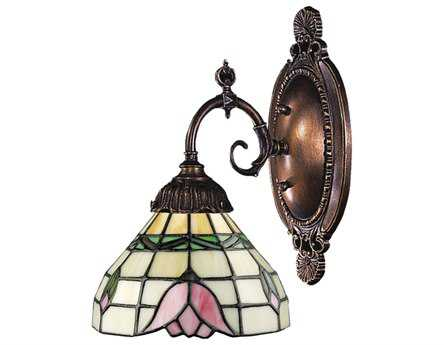 Elk Lighting Mix-N-Match Tiffany Bronze Wall Sconce EK071TB09