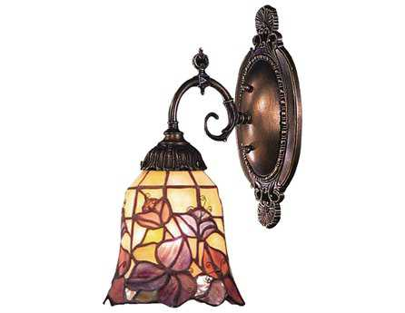 Elk Lighting Mix-N-Match Tiffany Bronze Wall Sconce EK071TB17