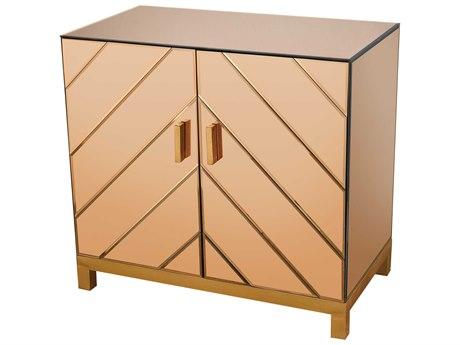 Elk Lighting Museum Gold Leaf 32''W x 18''D Two-Door Cabinet
