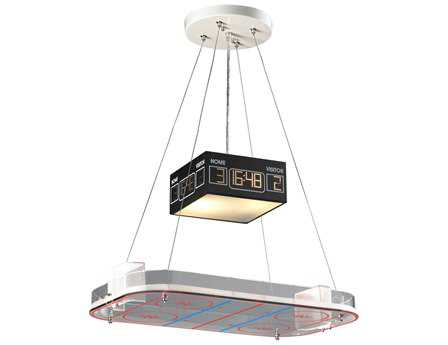 Elk Lighting Novelty Two-Light 22'' Wide Hockey Island Light EK51382