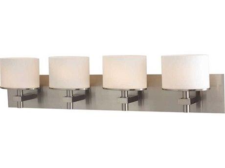 Elk Lighting Ombra Satin Nickel Four-Light 34'' Wide Vanity Light
