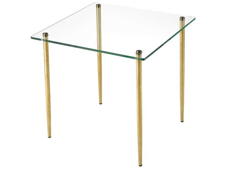 Elk Lighting On Point Gold 17'' Wide Square End Table
