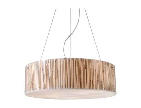 Elk Lighting Modern Organics Polished Chrome Five-Light 24'' Wide Pendant