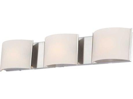 Elk Lighting Pandora Chrome Three-Light 25'' Wide Vanity Light