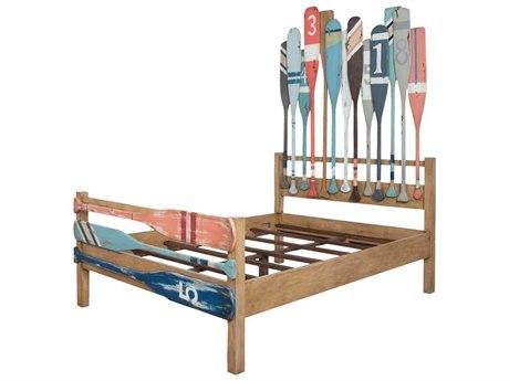 Elk Home Classic Artisan Stain Queen Panel Bed
