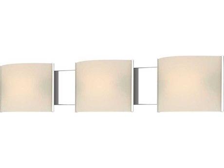 Elk Lighting Pannelli Chrome Three-Light 30'' Wide Vanity Light