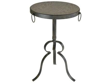 Elk Home Hazelnut / Rust 15'' Wide Round Pedestal Table