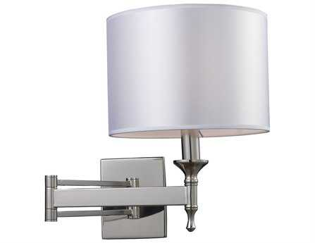 Elk Lighting Pembroke Polished Nickel Swing Wall Sconce EK101601