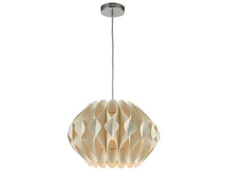 Elk Home Off-white One-Light 16'' Wide Pendant