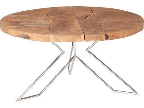 Elk Lighting Priyo Natural 31.5'' Round End Table