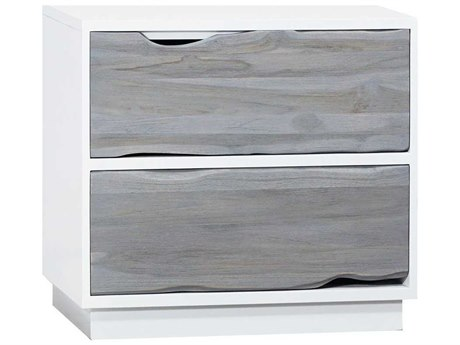 Elk Home Grain De Bois Blanc / Henna Two-Drawer Nightstand EK6418505