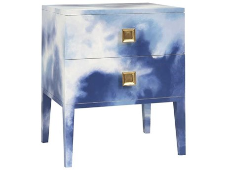 Elk Home Hand-painted Art Two-Drawer Nightstand EK6419010