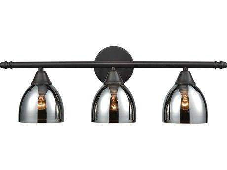 Elk Lighting Reflections Oil Rubbed Bronze Three-Light 25'' Wide Vanity Light