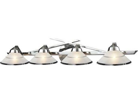 Elk Lighting Refraction Polished Chrome Four-Light 34'' Wide Vanity Light