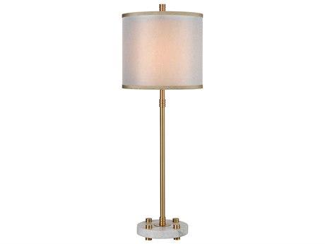 Elk Lighting Restraint Grey Marble / Cafe Bronze Buffet Lamp