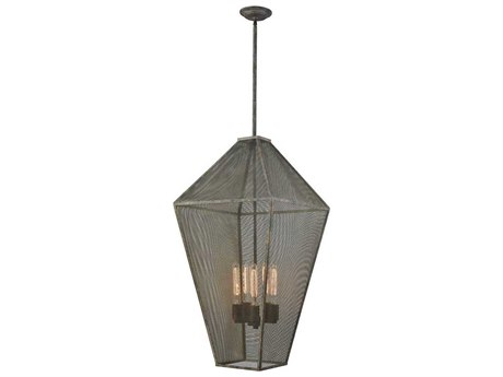 Elk Lighting Salisbury Malted Rust Five-Light 18'' Wide Pendant Light