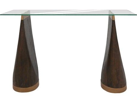 Elk Lighting Shampoo Castle Finish 50'' Wide Rectangular Console Table