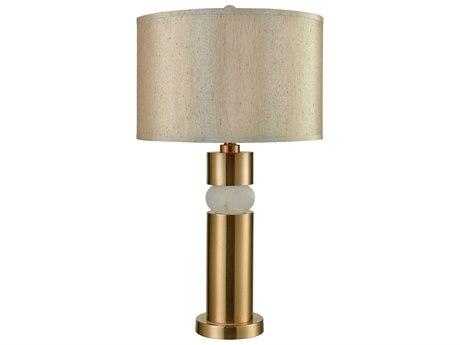 Elk Lighting Splice Cafe Bronze / White Alabaster Buffet Lamp