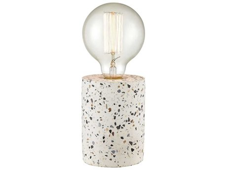 Elk Home Grey / White One-Light Table Lamp