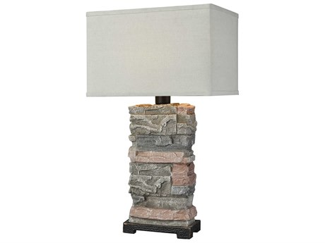 Elk Lighting Terra Firma Stone Buffet Lamp