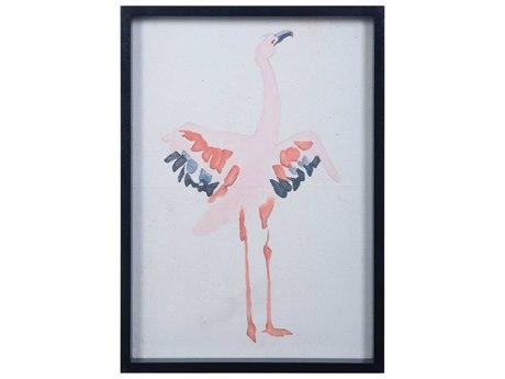 Elk Lighting Flamingo Painting