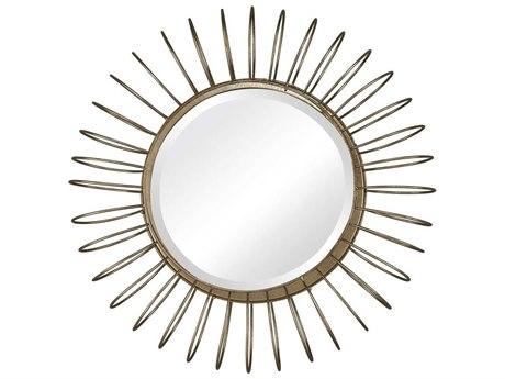 Elk Home Gold Leaf Wall Mirror