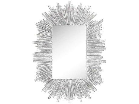 Elk Home Bleached White Wall Mirror