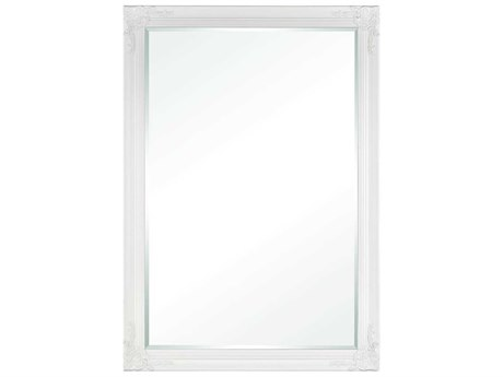 Elk Home Matte White Wall Mirror