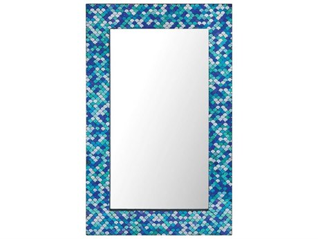 Elk Home Turquoise Wall Mirror