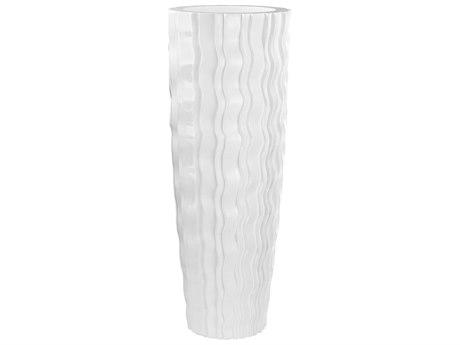 Elk Lighting Wave Gloss White Vessel