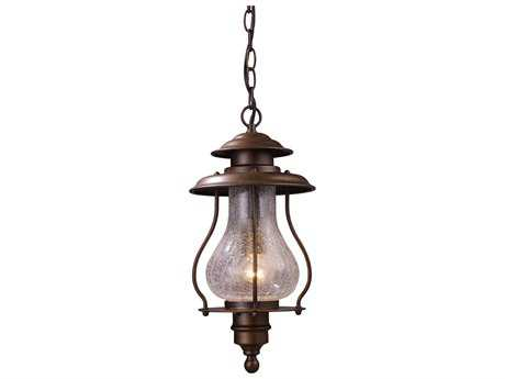 Elk Lighting Wikshire Coffee Bronze Outdoor Pendant