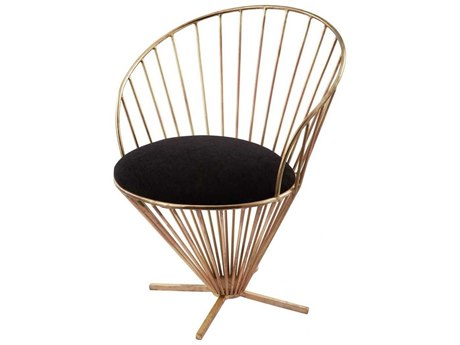 Elk Lighting Iron Taper Wire Accent Chair